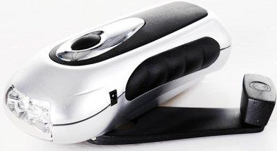 Ручное зарядное устройство для мобильных телефонов с светодиодным фонариком (1 из 1)