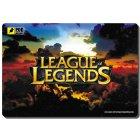 Коврик игровой  League of Legends размер (220х320 мм)