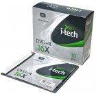 Диск DVD+R 4,7 GB 16x Slim-10