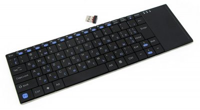 Клавиатура беспроводная, Phoenix серия, тонкая, touchpad, RF интерфейс, украинская раскладка (1 из 5)