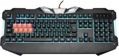 Клавиатура USB, Black Multimedia gaming (1 из 6)