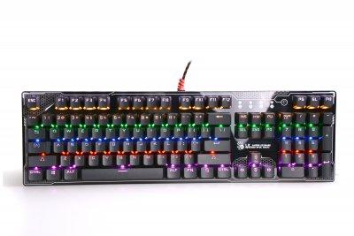 Клавиатура механическая игровая, USB, LED-подсветка (1 из 5)