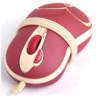 Мышь для ноутбука, с узором USB, 800dpi, 2х