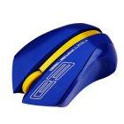 Мышь беспроводная  USB 2000dpi, 15м, синяя