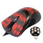 Мышь игровая Oscar,USB, 3600dpi