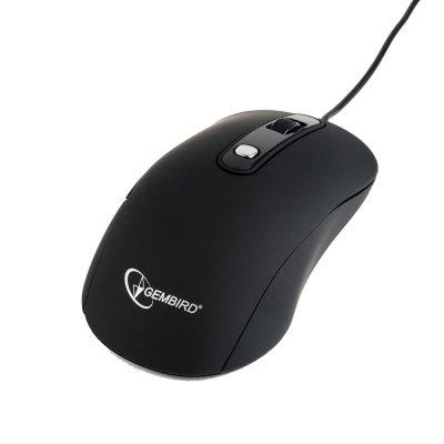 Оптическая мышь, USB интерфейс, черный цвет (1 из 5)