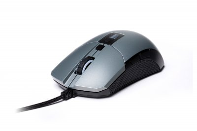 Мышь игровая модульная, 12000DPI, Grey/White (1 из 7)