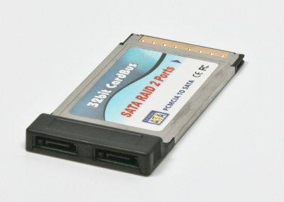 Контроллер, PCMCIA eSATA, 2 ports (1 из 1)