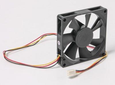 Вентилятор 80x80x15мм, 3c/3p (1 из 3)