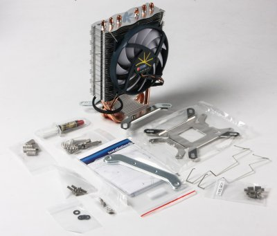Кулер Dragonfly 3, Intel/AMD, 3 heatpipes, PWM (1 из 7)