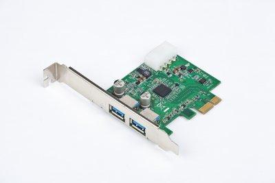Карта расширения, PCI-Express на 2 USB 3.0 порта (1 из 1)