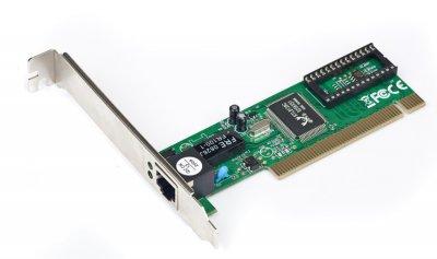 Сетевая плата, 100 Base-TX PCI Realtek чипсет (1 из 2)