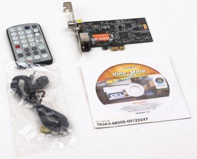 Тюнер TV COMPRO VME300w/FM/PCIe (1 из 1)