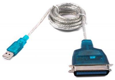 Кабель-переходник USB1.1-LPT(bitronics), блистер (1 из 2)