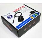 Адаптер USB3.0-SATAII, с блоком питания