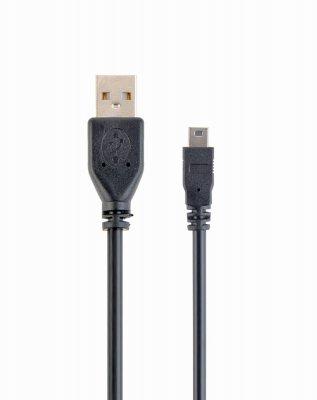 Кабель mini USB2.0, A-папа/mini USB 5-пин, 0.3 м, премиум (1 из 1)