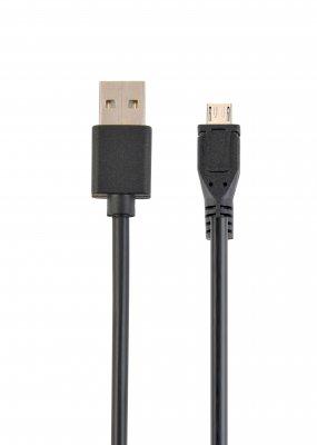 Кабель USB 2.0 A-папа/Micro B-папа, двусторонний разъем (1 из 2)