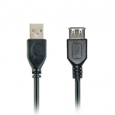 Кабель USB 2.0 A-папа/A-мама, премиум качество (1 из 4)