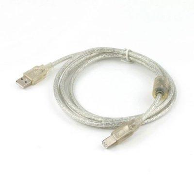 Кабель USB2.0 A-папа/B-папа, 3.0 м, феррит (1 из 2)