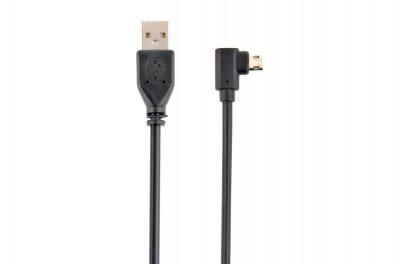 Кабель USB2.0 A-папа/B-папа, угловой, симметричный 1.8 м, премиум в блистере (1 из 2)