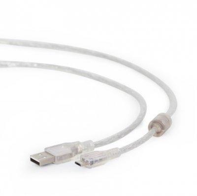 Кабель micro USB2.0, A-папа/micro B-папа, 1.8 м, премиум (1 из 2)