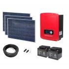 Комплект для солнечной гибридной электростанции 3kVA