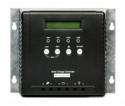 Контроллер заряда для солнечных панелей 12/24В, 10А, LCD, MPPT (1 из 2)