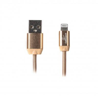Кабель USB 2.0 А-папа/Lightning, 1.0 м, премиум, 2.4А (1 из 3)