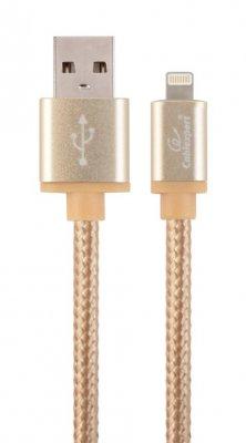 Кабель USB2.0, A-папа/Lightning, 1.8 м, с оплеткой и металлическими разъемами (1 из 3)