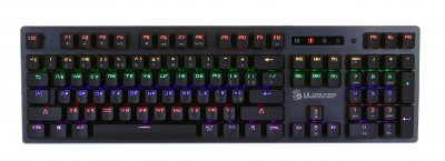 Клавиатура механическая игровая, USB, LK-Orange switches, подсветка (1 из 4)
