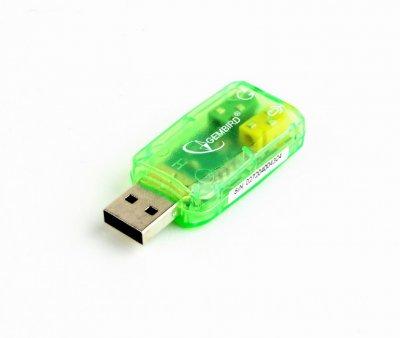 Адаптер USB2.0-Audio, блистер (1 из 3)
