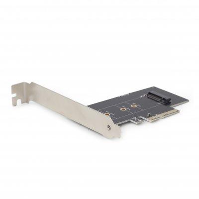 PCI-Express адаптер для SSD-накопителя формата M.2 шириной 22 мм, низкопрофильная планка в комплекте (1 из 4)