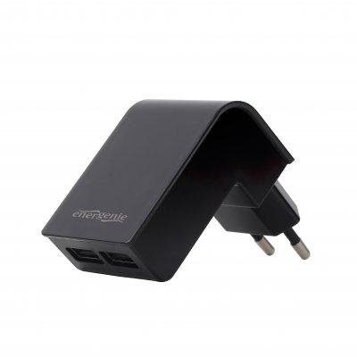 Зарядное устройство USB 2.1A, цвет черный (1 из 3)