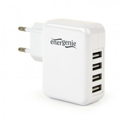 Зарядное устройство 4 USB, 3.1A (1 из 4)