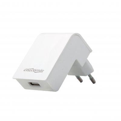 Зарядное устройство USB 2.1A,цвет белый (1 из 3)