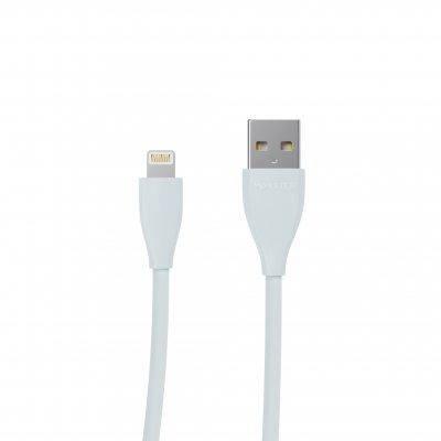 Кабель USB 2.0 А-папа/Lightning, 1.0 м, премиум, 2.4А (1 из 4)