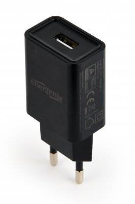 Зарядное устройство USB 2.1A,цвет черный (1 из 4)