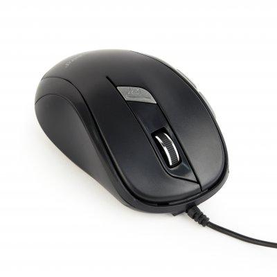 Оптическая мышь, USB интерфейс, черный цвет (1 из 3)
