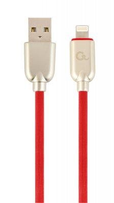 Кабель USB 2.0 А-папа/Lightning, 1.0 м, премиум, 2.1А (1 из 2)