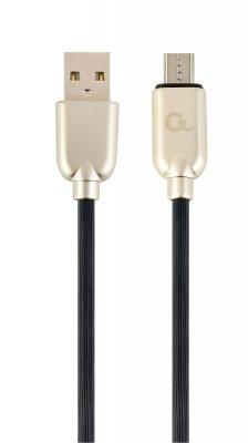 Кабель micro USB 2.0 A-папа/Micro B-папа, премиум, 2.1А (1 из 2)