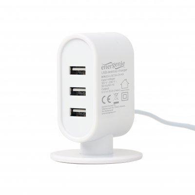 Зарядное устройство настольное, 3 USB, 3.1A (1 из 8)