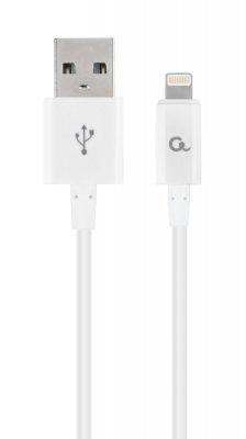 Кабель USB 2.0 А-папа/Lightning, 1.0 м, 2.1А (1 из 2)