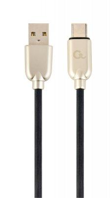 Кабель USB 2.0 A-папа/C-папа, 2 м, премиум, 2.1А (1 из 2)