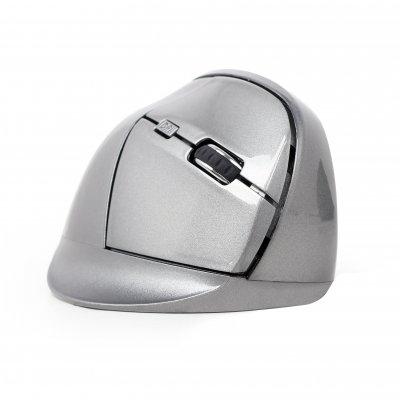Оптическая беспроводная эргономическая мышь, USB интерфейс, черный цвет (1 из 7)