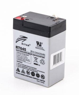 Аккумуляторная батарея 6В 4.5Aч (1 из 1)
