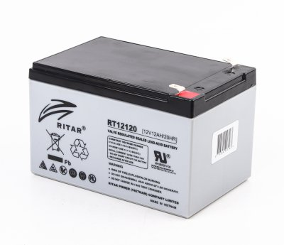 Аккумуляторная батарея 12В 12Aч (1 из 1)