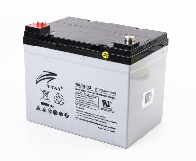 Аккумуляторная батарея 12В 33Aч (1 из 3)