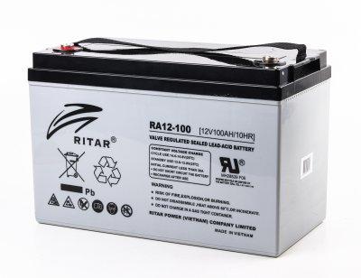 Аккумуляторная батарея 12В 100Aч (1 из 3)