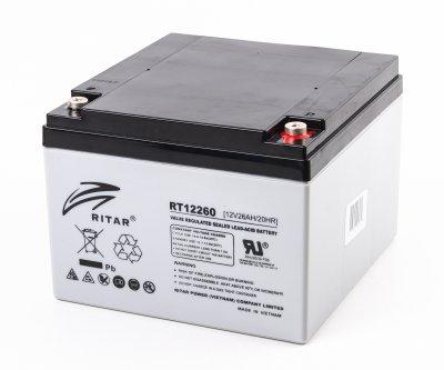 Аккумуляторная батарея 12В 26Aч (1 из 3)