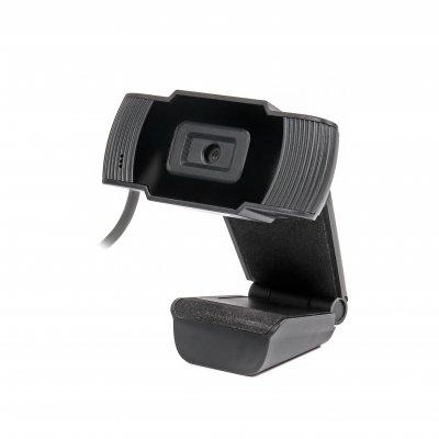 Веб камера USB 2.0, HD 1280x720, Fixed-Focus, черный цвет (1 из 4)